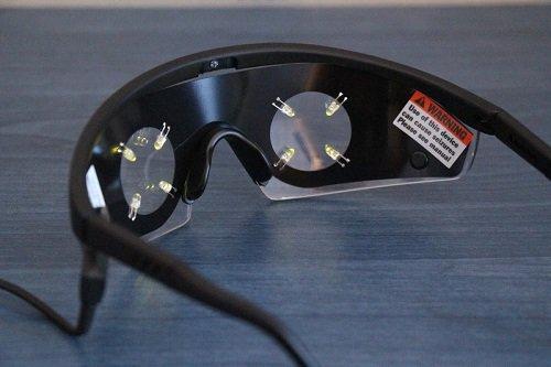 Очки pvStim Premium для майнд машин Photosonix (красные) Foto - 7continent.com.ua