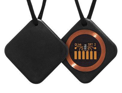 Q-Link SRT-2 Классический черный кулон. Защита от электромагнитных полей Foto - 7continent.com